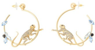 Erdem Monkey Hoop earrings