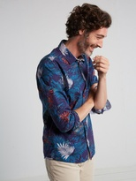 White Stuff Tropical print shirt