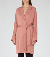 Reiss Manhattan Fluid Trench Coat