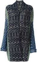 Forte Forte patterned cardi-coat