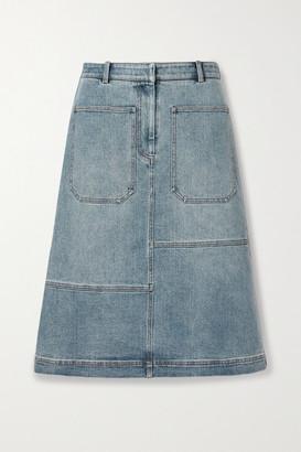 Tibi Denim Skirt - Light blue
