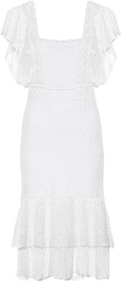 Anna Kosturova Florence crochet cotton dress