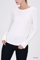 Double Zero Long Sleeve Top