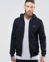 Barbour Hoodie With International Logo In Black