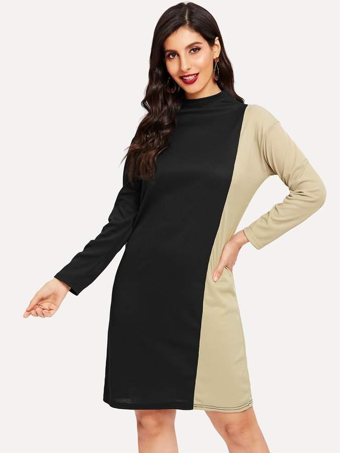 14e77b0ca4 Stand Collar Dress - ShopStyle