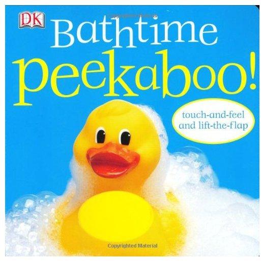 DK Publishing Peekaboo Bathtime (Board Book)