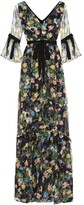 Erdem Petunia floral-printed dress