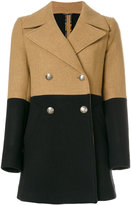Etro bicolour double-breasted coat - women - Viscose/Wool - 40
