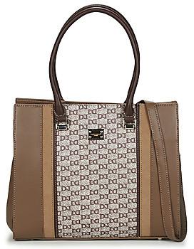 David Jones 61122-2-CAMEL women's Handbags in Brown