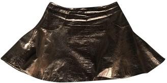 Antipodium Metallic Skirt for Women