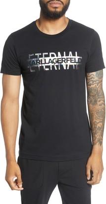 Karl Lagerfeld Paris Eternal Crewneck T-Shirt