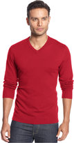 Alfani Men's V-Neck Sweater, Only at Macy's