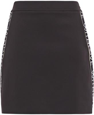 Maje Just Stretch-jersey Mini Skirt