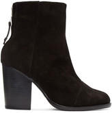 Rag & Bone Black Suede Ashby Boots