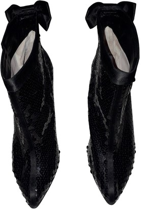 Marc by Marc Jacobs Black Polyester Ankle boots