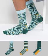 Diesel 3 Pack Socks In Gift Box