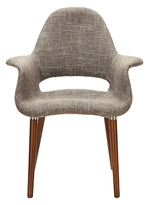 Modway Aegis Linen Dining Armchair
