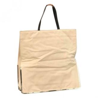 Theyskens' Theory Beige Linen Handbags