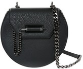 Mackage Wilma-C Leather Shoulder Bag In Black/Gunmetal