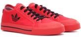 Adidas By Raf Simons Matrix Spirit Low Canvas Sneakers