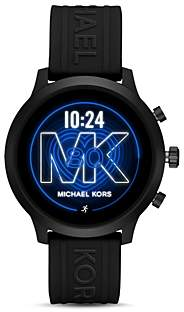 Michael Kors Go Silicone Strap Touchscreen Smartwatch, 43mm