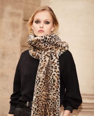 The Kooples Leopard print women's trendy scarf