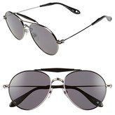 Givenchy Men's '7012/s' 56Mm Polarized Sunglasses - Dark Ruthenium/polar