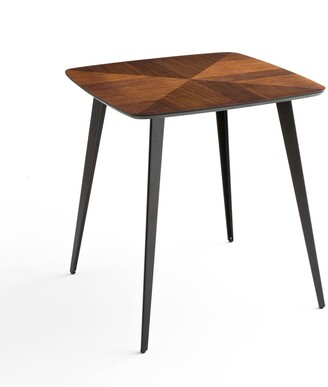 La Redoute Interieurs Watford Bistro-Style Inlaid Dining Table, Seats 2