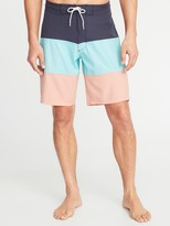 Old Navy Built-In Flex Color-Blocked Board Shorts for Men - 10-inch inseam