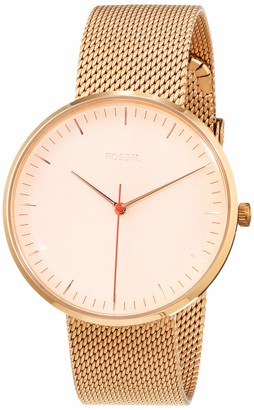 Fossil Womens Analogue Quartz Watch with Stainless Steel Strap ES4425