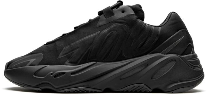 Adidas Yeezy Boost 700 MNVN 'Triple Black' Shoes - Size 4