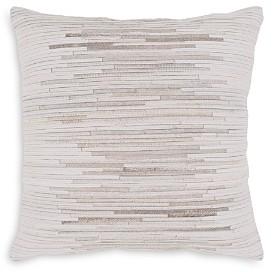 Surya Zander Calf Hair Throw Pillow, 20 x 20