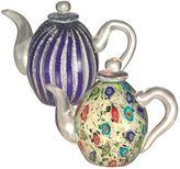 Dale Tiffany Art Glass 2-Piece Teapot Set