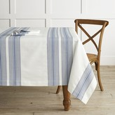 "Williams-Sonoma Williams Sonoma Hatched Stripe Tablecloth, 70"" X 108"""