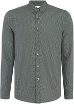 Peter Werth Men's Calder Micro Geometric Printed Shirt