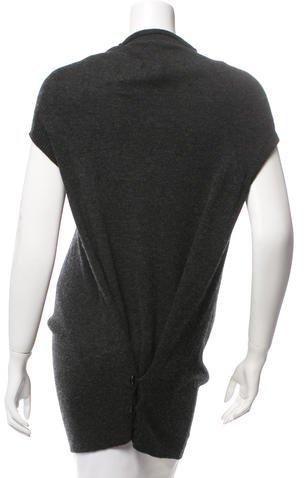 Yohji Yamamoto Wool Short Sleeve Cardigan w/ Tags