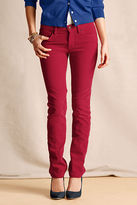 Lands' End Women's Pin Straight Cords