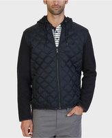 Nautica Men's Fleece Quilted Hoodie