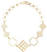 Marc by Marc Jacobs Lost & Found Hexagon Statement Necklace