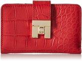 Tommy Hilfiger Turnlock Croco Flap Wallet