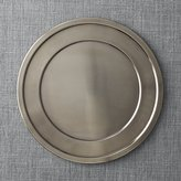 Crate & Barrel Lawrence Charger Plate