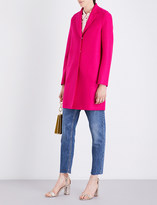 Harris Wharf Cocoon wool coat