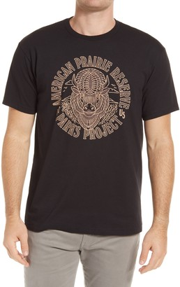 Parks Project American Prairie Reserve Buffalo Graphic Tee