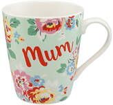 Cath Kidston Wells Rose Mum Mug, Soft Mint, 475ml