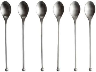 Knork Modern Iced Teaspoon, Set of 6