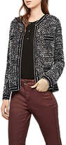 Gerard Darel Structured Cardigan Blazer, Grey