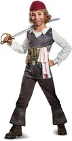 Disguise Pirates of the Caribbean Captain Jack Classic Costume (Little Boys & Big Boys)