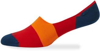 Marcoliani Milano Men's Multicolor No-Show Socks