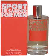 Jil Sander SPORT by for MEN: EDT SPRAY 3.4 OZ