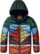 Scotch & Soda Colourful Puffer Jacket